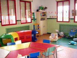 Aula de la Escuela Infantil Juan Valero-San Antón